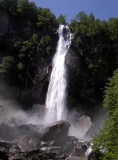 Wasserfall Cascada Calneggia