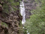 Wasserfall im Val Motta