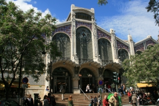 Haupteingang zum Mercado Central