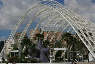Beeindruckende Architektur in der Ciudad de las Artes y las Ciencias